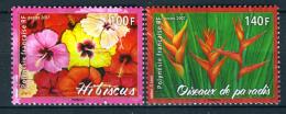 2007 - POLINESIA FRANCESE - FRENCH POLYNESIA - Scott  Nr. 961/962 -  NH - ( **) - (K-EA-372270.2) - French Polynesia