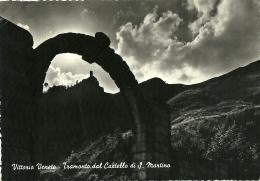 VITTORIO VENETO  TREVISO  Tramonto Dal Castello Di San Martino - Treviso