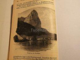 Mondsee Plomberg Austria Print Engraving  1907 - Stiche & Gravuren