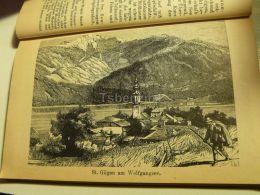 St. Gilgen Wolfgangsee Austria Print Engraving  1907 - Stiche & Gravuren