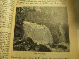Traunfall Austria Print Engraving  1907 - Stiche & Gravuren