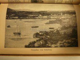 Grünberg Gmunden Austria Print Engraving  1907 - Stiche & Gravuren