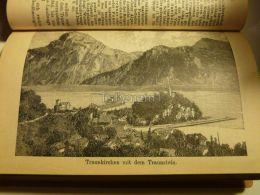 Traunkirchen Traunstein Austria Print Engraving  1907 - Stiche & Gravuren