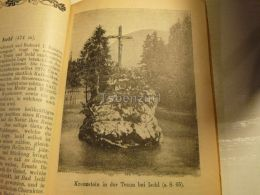 Kreuzstein In Der Traun Bei Ischl Austria Print Engraving  1907 - Stiche & Gravuren