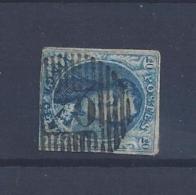 N°11 (ntz) GESTEMPELD D70 Braine-L'Alleud - Postmarks - Lines: Distributions