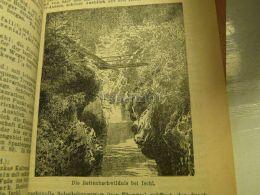 Bad Ischl Rettenbachwildnis Austria Print Engraving  1907 - Stiche & Gravuren