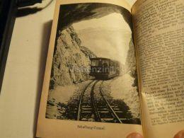 Schafberg Tunnel Train Bahn Austria Print Engraving  1907 - Stiche & Gravuren