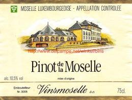 Pinot De La Moselle Vinsmoselle - Labels