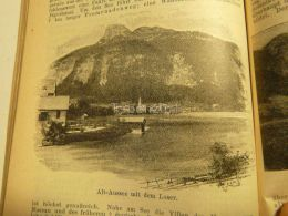 Alt Aussee Loser Austria Print Engraving  1907 - Stiche & Gravuren