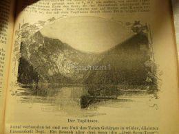 Toplitzsee Austria Print Engraving  1907 - Stiche & Gravuren