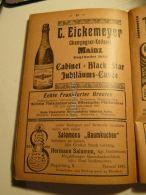 C. Eickemeyer Champagner Kellerei Mainz Echte Frankfurter Brenten Frankfurt Magdeburg Baumkuchen Salomon Werbung 1907 - Reklame