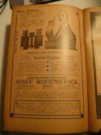 München Berlin Charlottenburg Josef Rodenstock Optisch  Werbung 1907 - Reklame