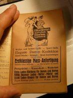 München F. Hirschberg & Co. Sport & Mode Elegante Damen Konfektion Werbung 1907 - Reklame