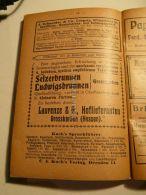 Leipzig Grosskarben Hessen Dresden Werbung 1907 - Reklame