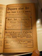 Papiere Aller Art Leipzig Berlin Hamburg Mosel Saar Ruwerweine Trier Werbung 1907 - Reklame