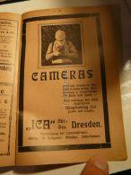 Ica Cameras Dresden Werbung 1907 - Reklame