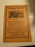 Mittweida Technikum Werbung 1907 - Reklame