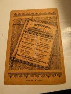Vergnügungs Und Erholungs Reisen Zur See Hamburg Germany Werbung 1907 - Reklame