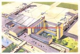 SABENA Aérogare De Bruxelles-National - Aviation Commerciale