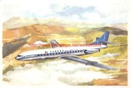 SABENA Caravelle Jet Continental - Aviation Commerciale