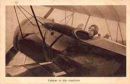 Vliegtuig   Fokker In Zijn Machine           A 1982 - 1939-1945: 2ème Guerre