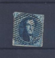 N°7A (ntz) GESTEMPELD D24 Mariembourg - Postmarks - Lines: Distributions