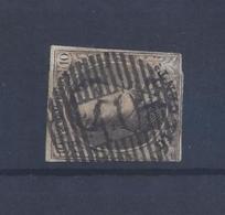 N°6A (ntz) GESTEMPELD D40 Mont St Guibert - Postmarks - Lines: Distributions