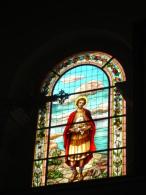 S.TARCISIO Martire Eucarestia - Vetrata Chiesa Di TREZZANO ROSA Milano -  Fotografia - Religion & Esotericism