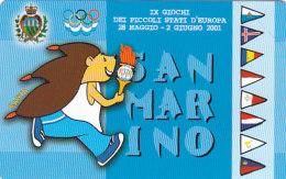 San Marino 2001 - 09K/10K 2001 TA-TD - Sportspiele Der Kleinstaaten Ungebraucht Mint - Saint-Marin