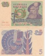 (B0332) SWEDEN, 1981. 5 Kronor. P-51d. XF - Svezia