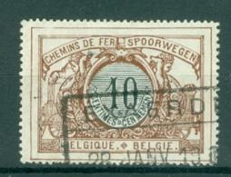 """BELGIE - OBP Nr TR 28- Cachet  """"EXAERDE"""" - (ref. AD-5524) - Chemins De Fer"""