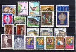 Année 1987  Complète, 1118 / 1139**, Cote 53 €, - Luxemburg