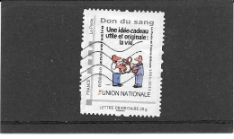FRANCE TIMBRE COLLECTOR MONTIMBRAMOI. DON DU SANG. IDT PHILAPOSTE  LETTRE PRIORITAIRE 20 G - France