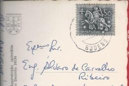Budens. Vila Do Bispo. Algarve. Obliteração De Budens. Postal Do Forte Do Beliche. Cabo De S. Vicente. 2 Scan - 1910-... République