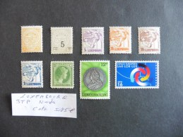 Luxembourg : 9 Timbres Neufs - Luxembourg