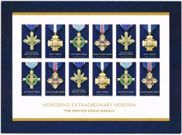 USA 2016 The Service Cross Medals Sheet Of 12 X 0.49c  MNH ** Army - United States