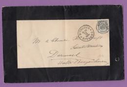 BELGIQUE:FAIRE PART MORTUAIRE POUR HALLE-BOYENHOVEN,1911. - 1893-1907 Wappen