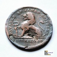 Gibraltar - 2 Quartos - 1820 - Gibraltar