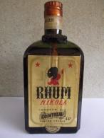 BOUTEILLE ANCIENNE RHUM NIKOLA Importé Par COINTREAU ANNEES 1920/1930 RECHERCHE - Spiritueux