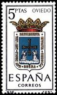 ESPAÑA SEGUNDO CENTENARIO NUEVO Nº 1562 ** 5P OVIEDO ESCUDOS - 1961-70 Neufs
