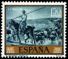 ESPAÑA SEGUNDO CENTENARIO NUEVO Nº 1571** 1,5P AZUL TURQUESA JOAQUIN SOROLLA - 1961-70 Neufs