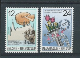 België       OBC      2184 / 2185         (XX)       Postfris. - Belgium
