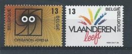 België       OBC      2277 / 2278         (XX)       Postfris. - Belgium