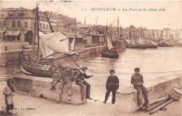 HONFLEUR - Le Port Et Le Mont Joli - Honfleur