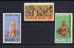 Nigeria Y&T 174/76 ** - Nigeria (1961-...)