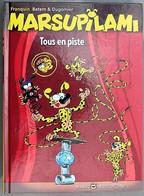 BD MARSUPILAMI - 16 - Tous En Piste - TTBE - Rééd. 2014 Petit Format - Marsupilami