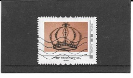 FRANCE TIMBRE COLLECTOR MONTIMBRAMOI OBLITERE.COURONNE. MONTIMBRAMOI. LETTRE PRIORITAIRE 20 G - France
