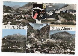 SAINT FIRMIN--Multivues (vues Générales,blason Avec Chamois,fleurs Et Poisson)--cachet St Firmin-05..à  Saisir - Autres Communes