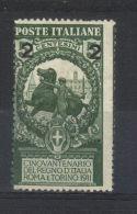 ITALIE  N° 95* (1913) - 1900-44 Vittorio Emanuele III