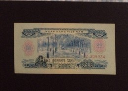 Vietnam Viet Nam 20 Xu UNC Banknotes 1966 (using In 1975) - Pick#38 - Vietnam